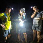 Hoof, Mike, and Sloan night-O at Bubbagoat