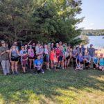 Lake James Swim-Run Orienteering group