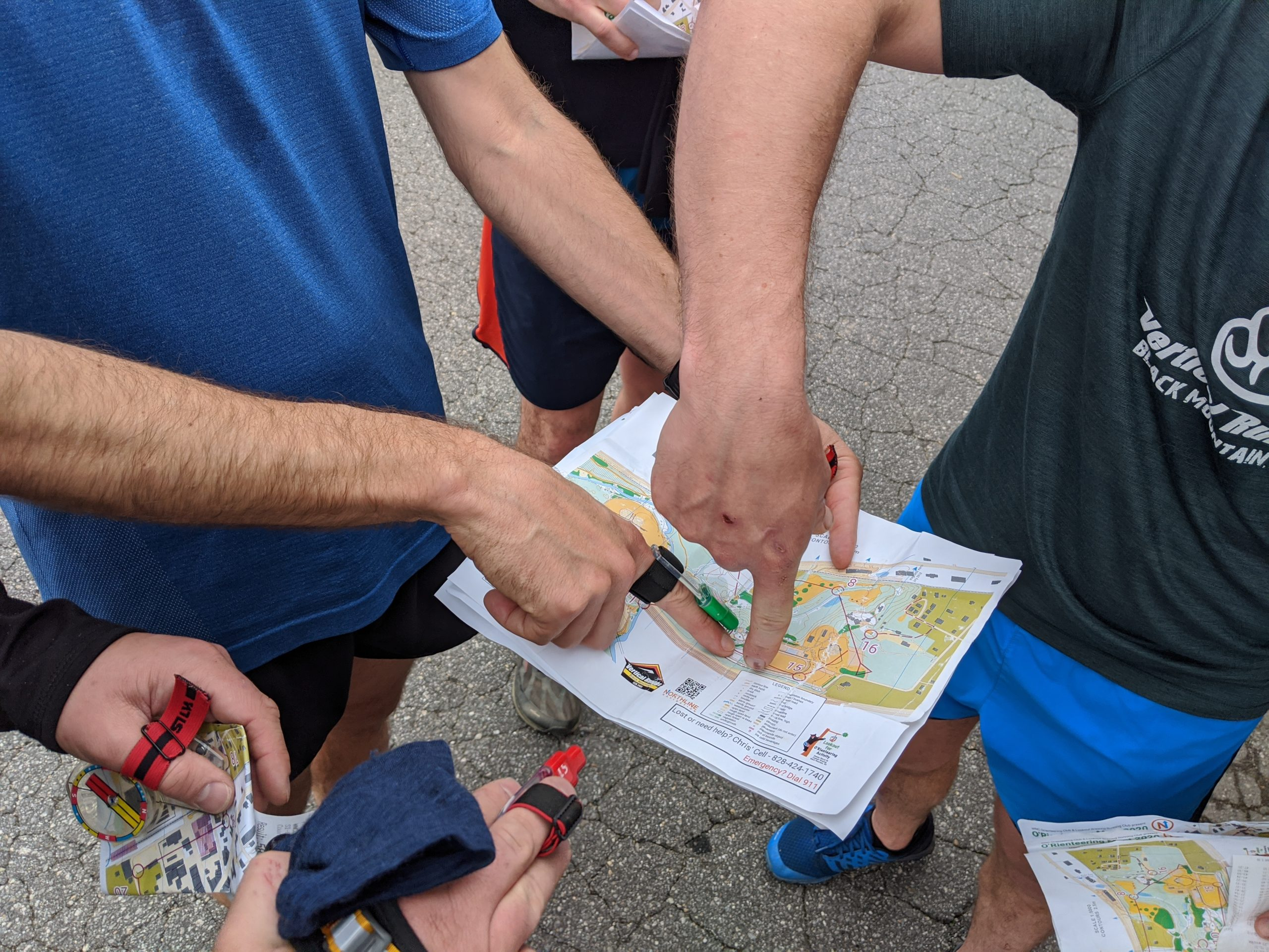 Compulsory map pointing picture