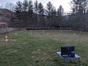 Grid-O Endur-O grid in the field