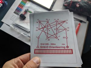 Grid-O Endur-O grid orienteering challenge