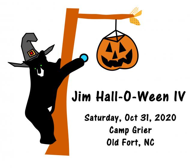 Jim Hall-O-Ween Logo - WNC Orienteering Club