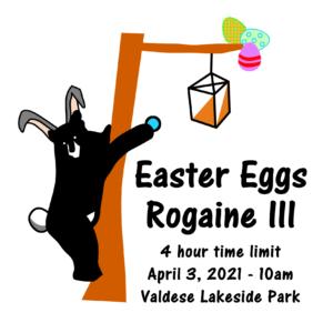 Easter Eggs Rogaine III logo