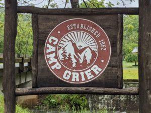 Camp Grier sign